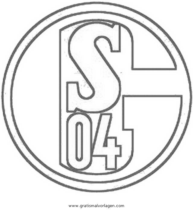 Fussball Wappen Vorlage Zum Ausmalen