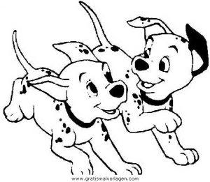 101 Dalmatiner 40 Gratis Malvorlage In 101 Dalmatiner Comic