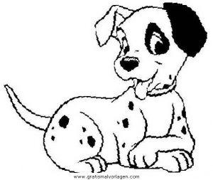 Gratis Malvorlagen Dalmatiner Directtaxizwolle