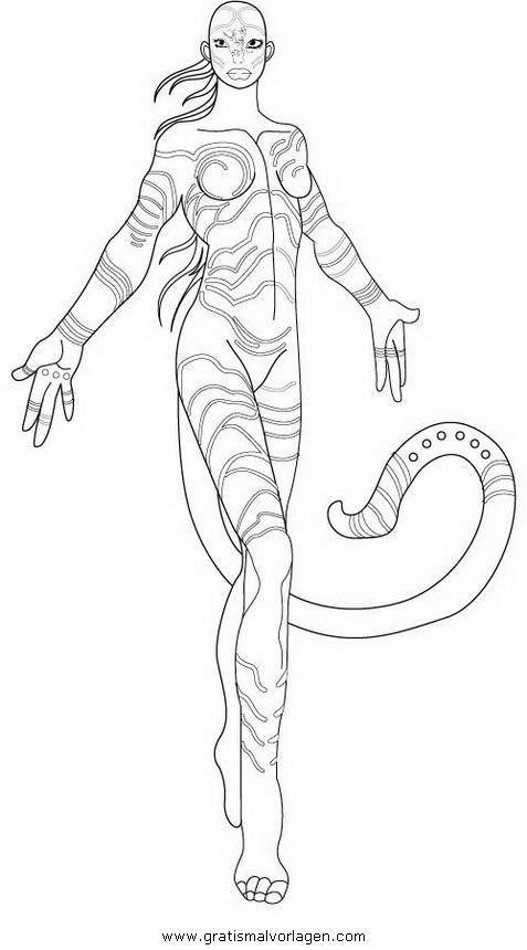 Avatar k rper 14 gratis malvorlage in avatar comic - Contorni delle immagini da colorare ...