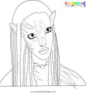 Malvorlage Avatar 51 avatar