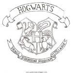 Harry Potter Malvorlagen Zum Ausmalen Für Kinder