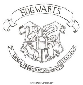 Hogwarts 2 Gratis Malvorlage In Comic Trickfilmfiguren Harry Potter Ausmalen