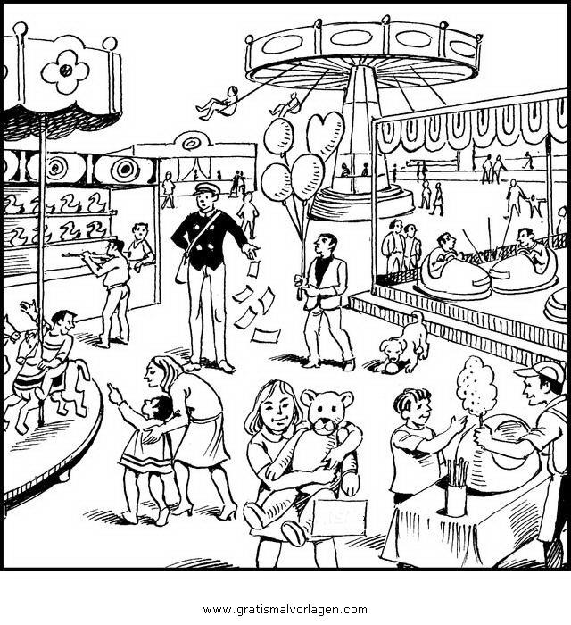 Karusell 5 Gratis Malvorlage In Beliebt08 Diverse