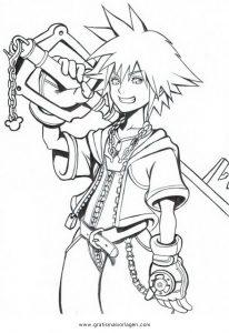 Malvorlage Kingdom Hearts Kingdom Hearts 02
