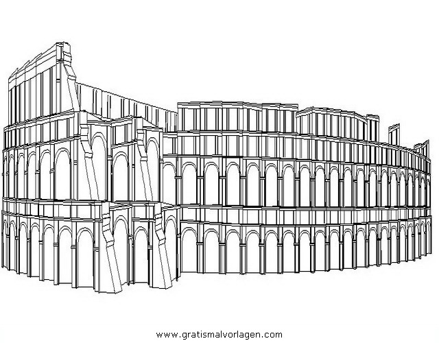koloseum 4 gratis malvorlage in antikes rom geografie