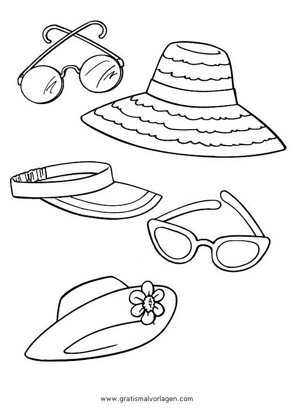 Sonnenbrille 4 Gratis Malvorlage In Beliebt12 Diverse Malvorlagen