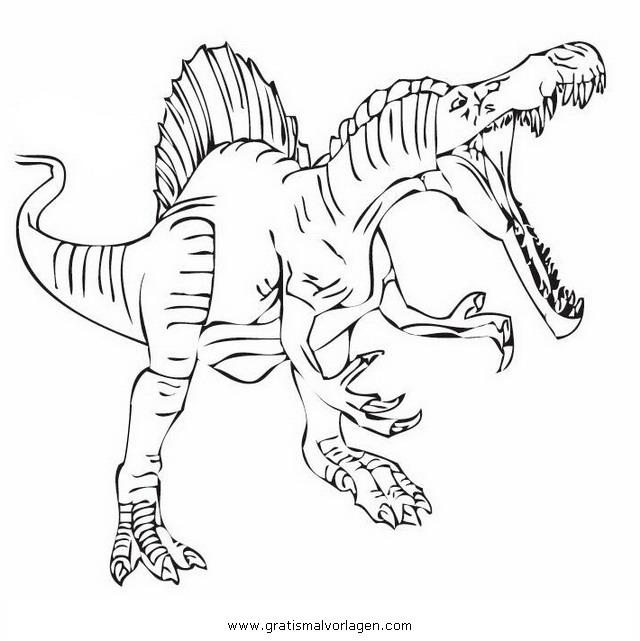 Malvorlagen Dinosaurier Spinosaurus | My blog