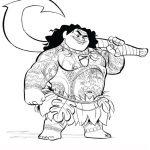 Vaiana 13 Gratis Malvorlage In Comic Trickfilmfiguren Vaiana