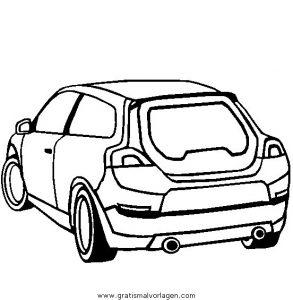 Volvo C30 Gratis Malvorlage In Autos Transportmittel Ausmalen