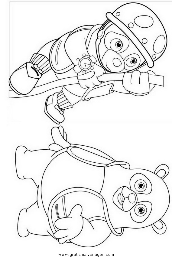 oso coloring pages - agente oso 9 gratis malvorlage in comic trickfilmfiguren