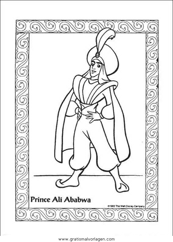 Sendung Maus 09 Gratis Malvorlage In Comic: Aladdin 09 Gratis Malvorlage In Aladdin, Comic