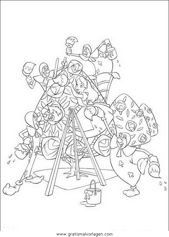 Rayman 11 Gratis Malvorlage In Comic Trickfilmfiguren: Alice Im Wunderland 11 Gratis Malvorlage In Alice Im