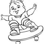 Alvin Der Chipmunk Malvorlagen Zum Ausmalen Fur Kinder