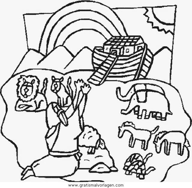 Arche Noah 19 Gratis Malvorlage In Arche Noah Religionen