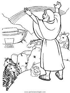Arche Noah 24 Gratis Malvorlage In Arche Noah Religionen Ausmalen