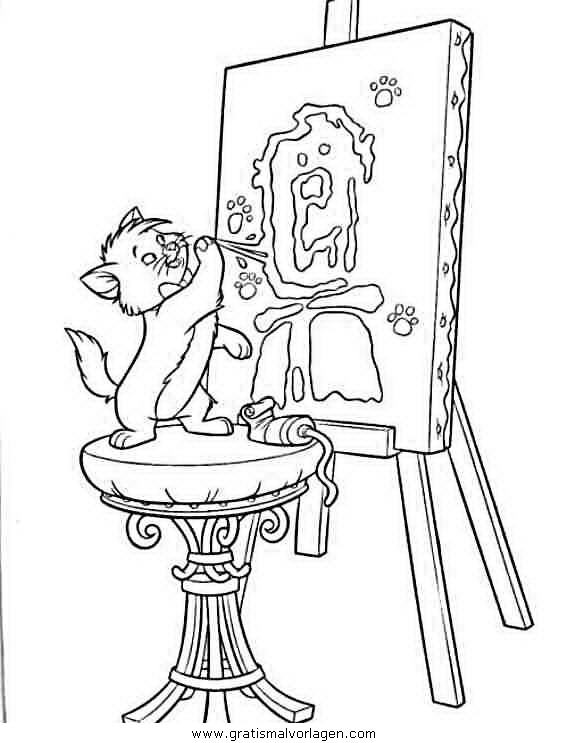 Rayman 11 Gratis Malvorlage In Comic Trickfilmfiguren: Aristocats 11 Gratis Malvorlage In Aristocats, Comic