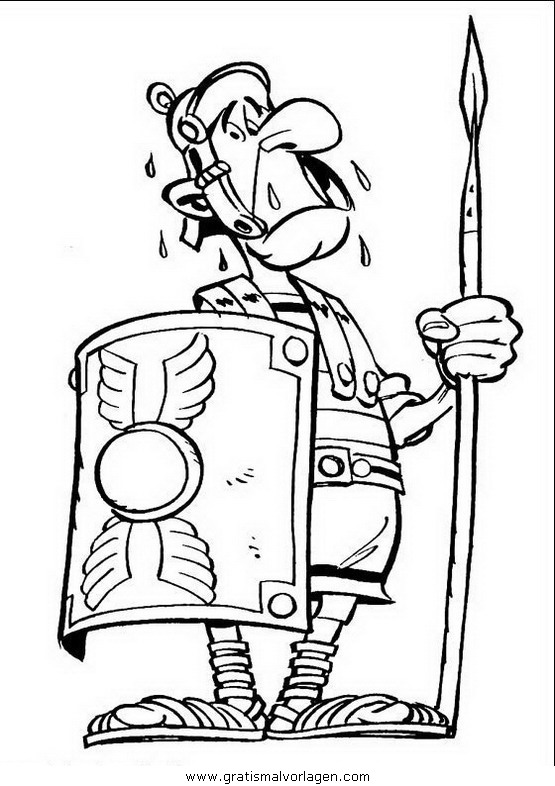 asterix 03 gratis malvorlage in asterix comic