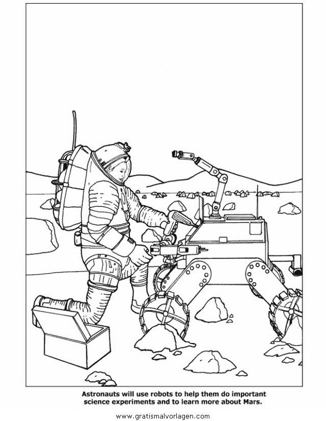 astronauten 35 gratis malvorlage in astronauten science