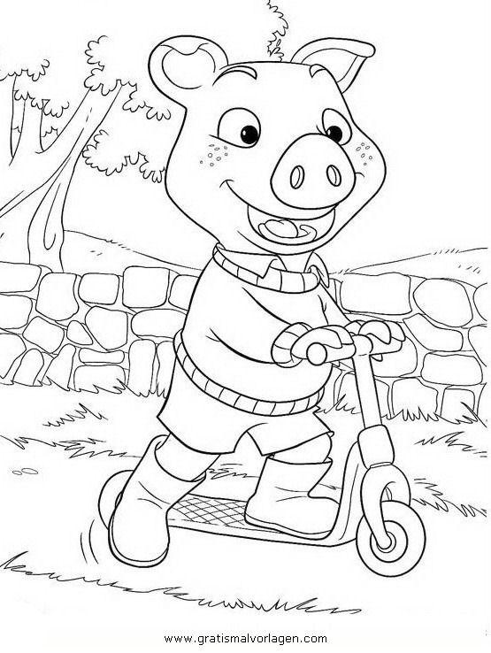 Rayman 11 Gratis Malvorlage In Comic Trickfilmfiguren: Au Schwarte Piggly Wiggly 11 Gratis Malvorlage In Au