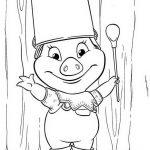 Comic Trickfilmfiguren Malvorlagen Zum Ausmalen Für Kinder