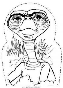 Auberirdische 24 Gratis Malvorlage In Außerirdische Science Fiction