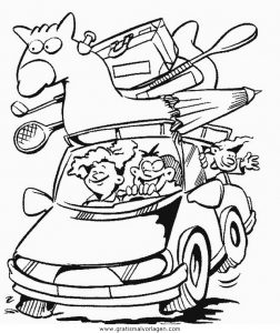Malvorlage Autos autos 20