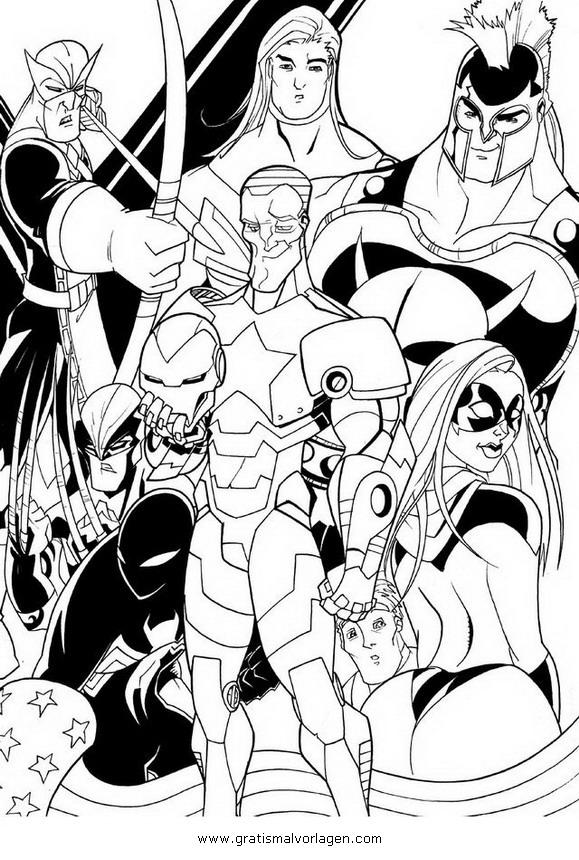 avengers 12 gratis malvorlage in avengers comic