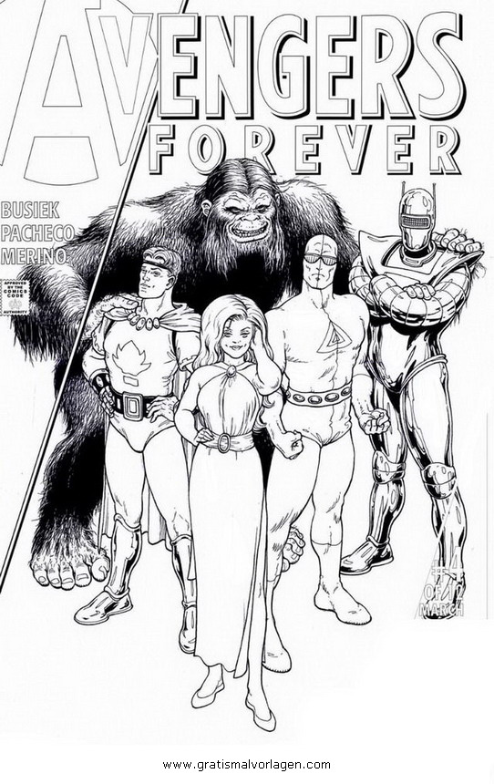 avengers 13 gratis malvorlage in avengers comic