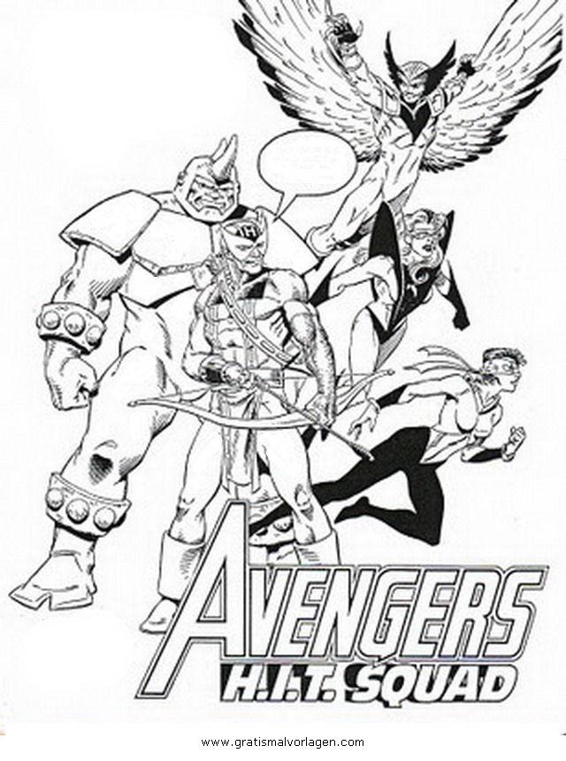 Avengers 14 gratis malvorlage in avengers comic - Descargar imagenes de los vengadores ...