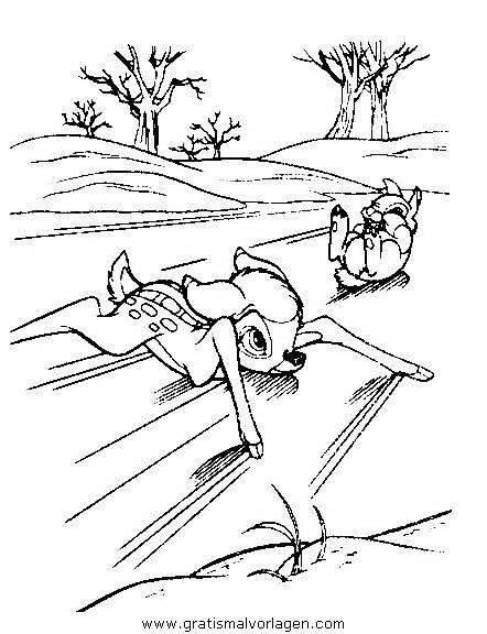 bambi04 gratis malvorlage in bambi comic