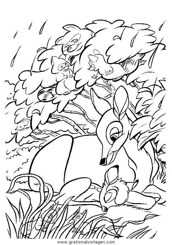 bambi05 gratis malvorlage in bambi comic
