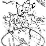 Bambi Malvorlagen Zum Ausmalen Fur Kinder
