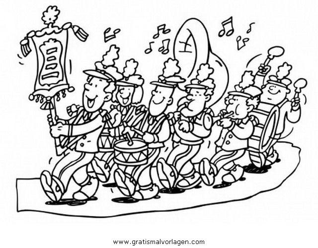 Band 3 Gratis Malvorlage In Diverse Malvorlagen Musik