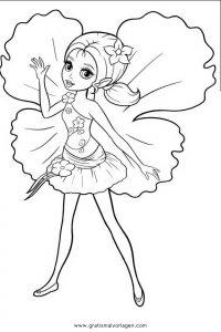 Barbie Elfinchen 02 Gratis Malvorlage In Barbie Elfinchen Comic