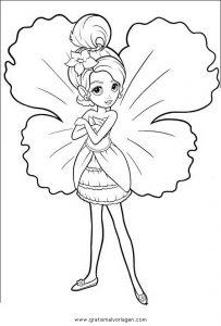 Barbie Elfinchen 04 Gratis Malvorlage In Barbie Elfinchen Comic