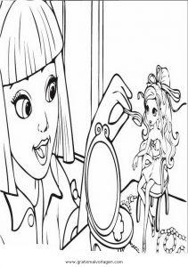 Barbie Elfinchen 11 Gratis Malvorlage In Barbie Elfinchen Comic