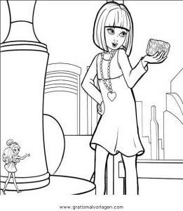 Barbie Elfinchen 13 Gratis Malvorlage In Barbie Elfinchen Comic