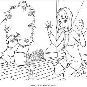 Barbie Elfinchen 21 Gratis Malvorlage In Barbie Elfinchen Comic