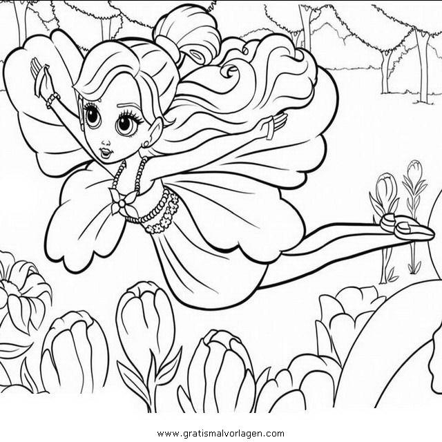 Barbie Elfinchen 22 Gratis Malvorlage In Barbie Elfinchen Comic