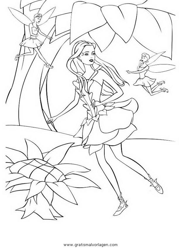 barbie fairytopia 19 gratis malvorlage in barbie
