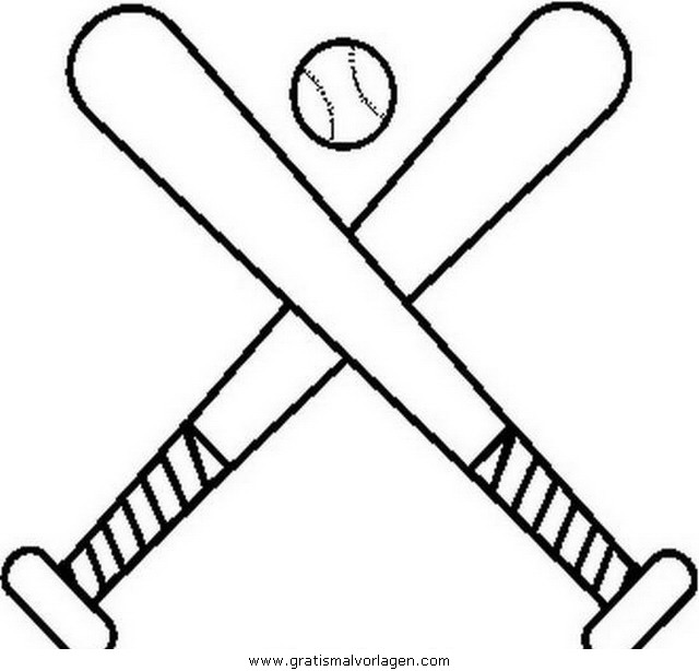 beisbol coloring pages - photo#34