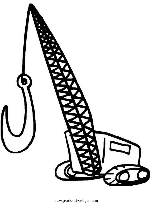 baumaschinen 14 gratis Malvorlage in Baumaschinen, Transportmittel ...