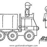 Baumaschinen 40 Gratis Malvorlage In Baumaschinen Transportmittel