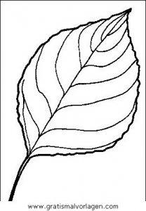 Malvorlage Bäume baume 04