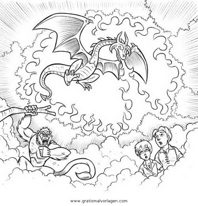 beast quest 2 gratis malvorlage in beast quest comic