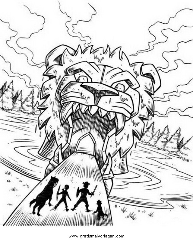 Beast Quest 4 Gratis Malvorlage In Beast Quest Comic