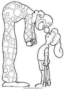 Malvorlage Behinderte Menschen behinderte menschen 08