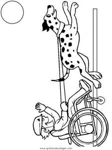 Malvorlage Behinderte Menschen behinderte menschen 13