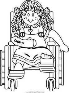 Malvorlage Behinderte Menschen behinderte menschen 51